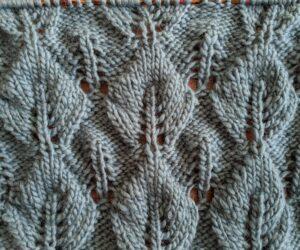 Three part infinity scarf (pattern) third part